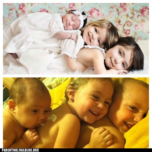 Parenting Fails: Tried to Recreate a Photo I Saw on Pinterest...