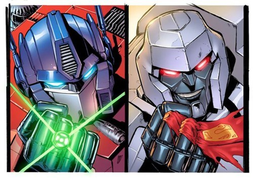Justice League/Transformers Crossover of the Day