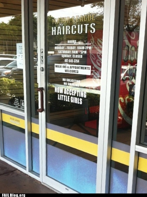 The Bear's Barber Shop FAIL