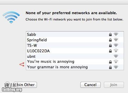 comeback,harsh,Music,name,network,wi-fi