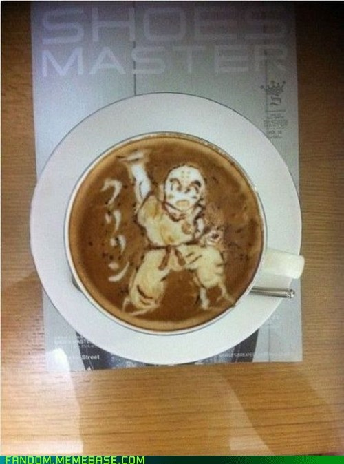 DBZ Latte of the Day