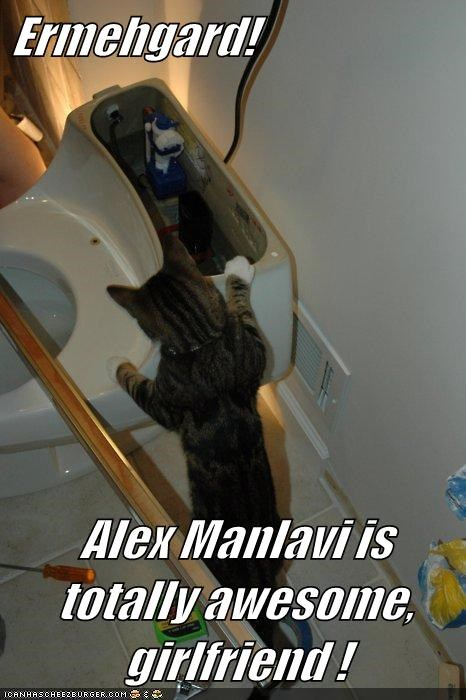 Ermehgard!  Alex Manlavi is totally awesome, girlfriend !