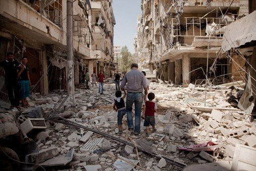 Syrian Uprising Account of the Day