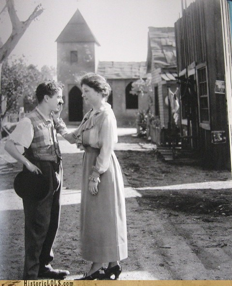 Oh Nothing, Just Charlie Chaplin and Helen Keller Hanging Out. No Big Deal...