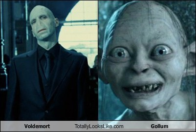 Voldemort Totally Looks Like Gollum