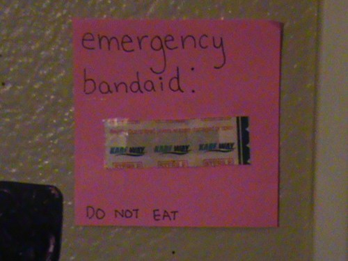 Do Not Eat.