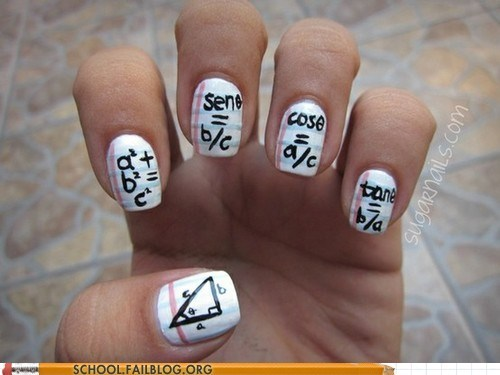 Nail Art for Math Geeks!