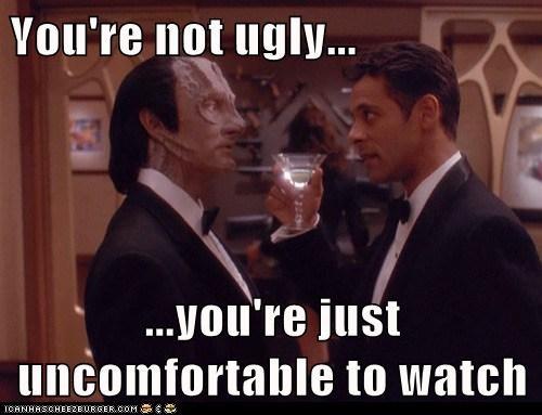 cardassian,Deep Space Nine,Star Trek,ugly,uncomfortable,watch