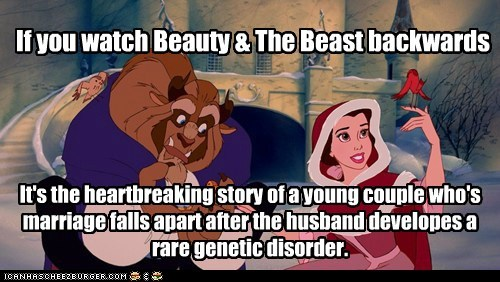 Beauty and the Beast in Reverse