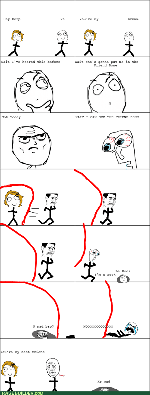 Rage Comics: Friend Zone