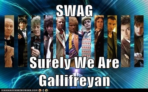 SWAG  Surely We Are Gallifreyan