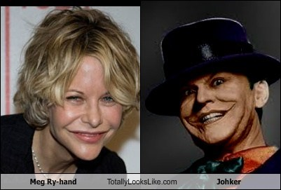 Meg Ry-hand Totally Looks Like Johker