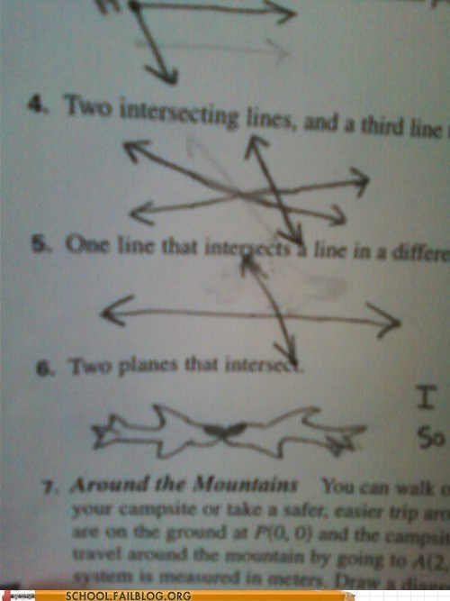 Intersecting Planes WIN