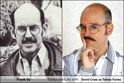 Frank Oz Totally Looks Like David Cross as Tobias Funke