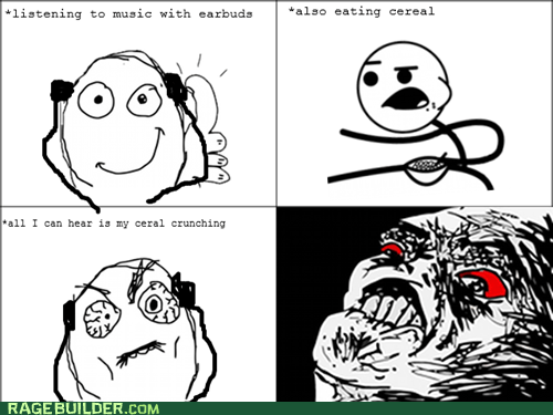 Rage Comics: Cereal Music