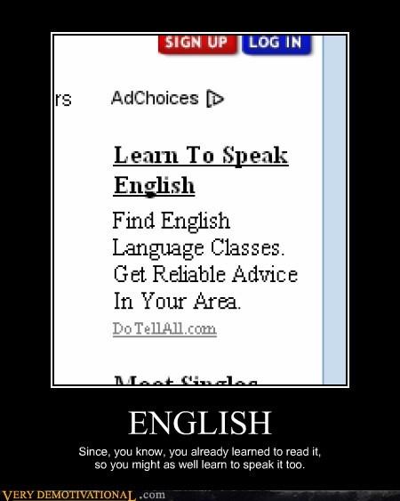english,idiots,read,speak