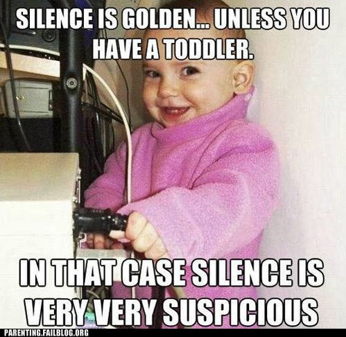 Parenting Fails: The Sound of Silence
