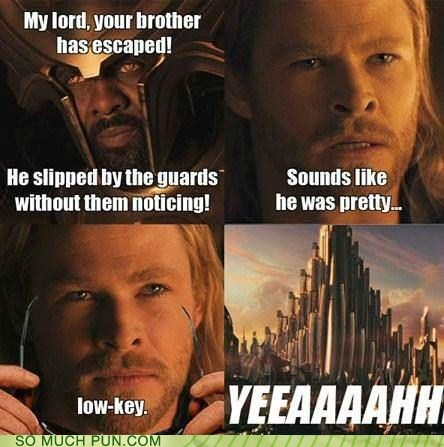 So Much Pun: CSI: Asgard