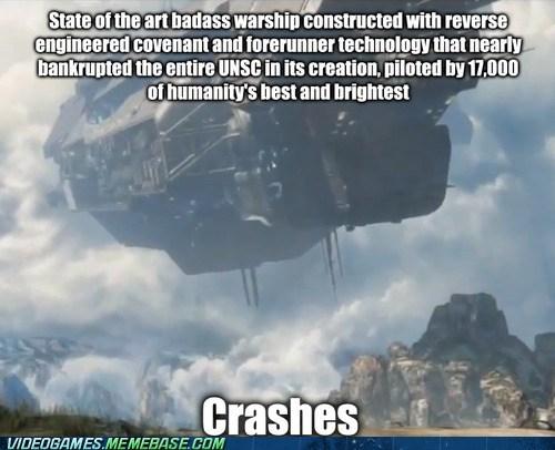 crashes,dont-believe-it,halo,seems legit
