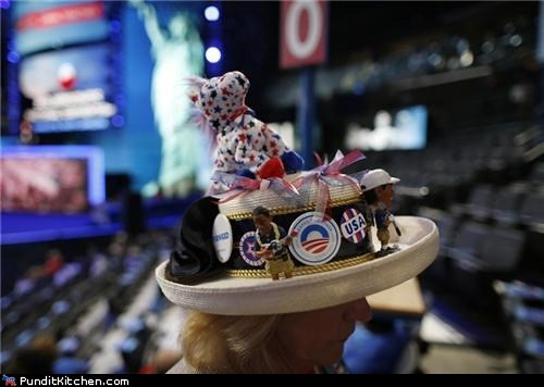 Democrats Will Not Be Outdone in the Crazy Hat Department