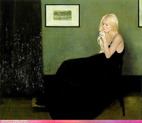actor,art,celeb,funny,history,lindsay lohan,painting,shoop
