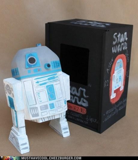 Sweet Wooden Star Wars Figures
