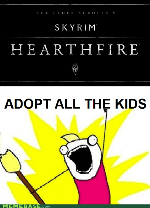 Adopt all the kids!