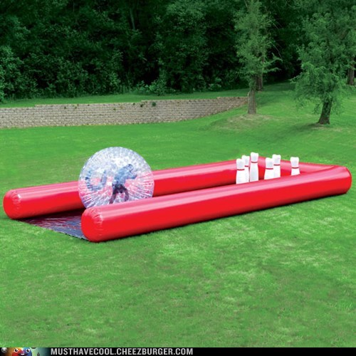 bowling,decor,giant,inflatable,yard