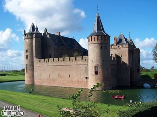 Destination: Muiderslot Castle