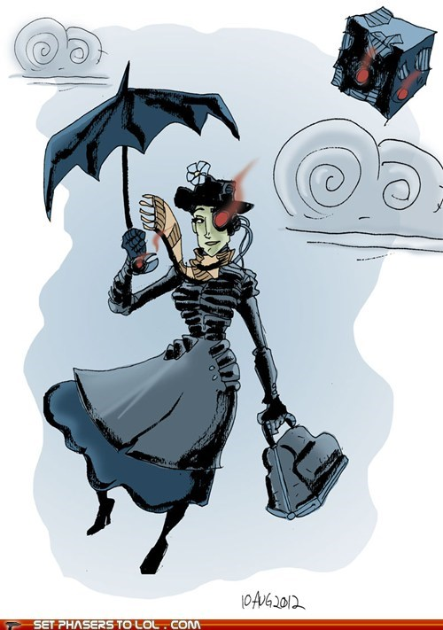 Mary Poppins of the Borg