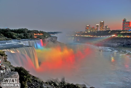 niagara falls,photography,pretty colors,rainbow,wincation