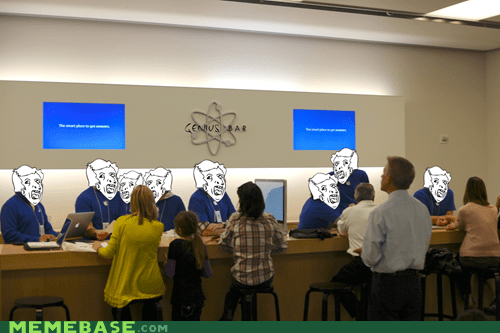 Memebase: Apple Genius Bar