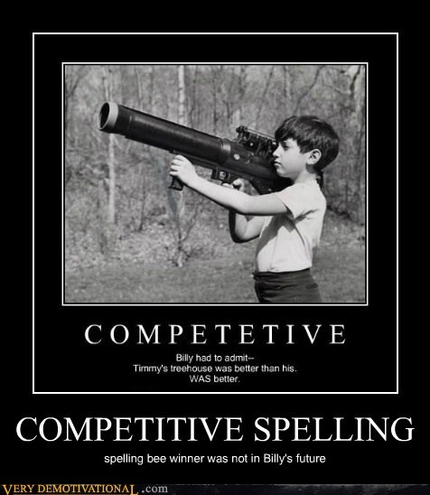 COMPETITIVE SPELLING