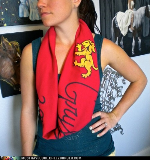 Must Have Cool: Harry Potter Circle Scarf