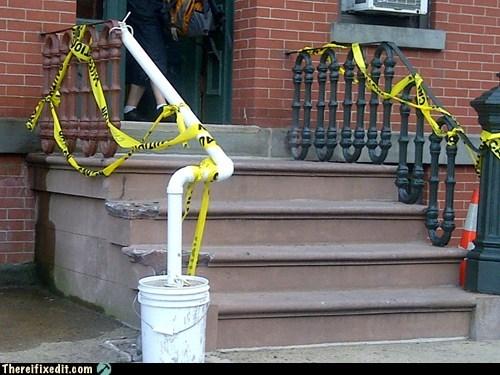 Hoboken Stairs, Jersey Repairs
