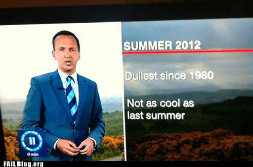 Summer Report FAIL