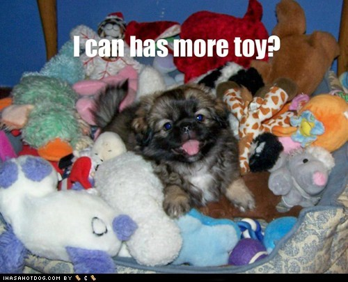 All teh toyz!
