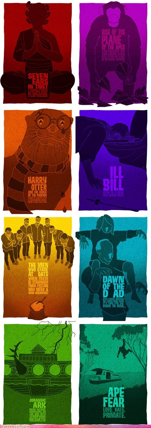art,cool,Harry Potter,jurassic park,Movie,Planet of the Apes,poster