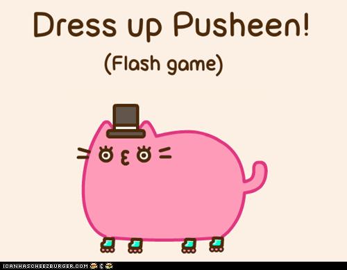 cute,dress up,games,interactive,pusheen