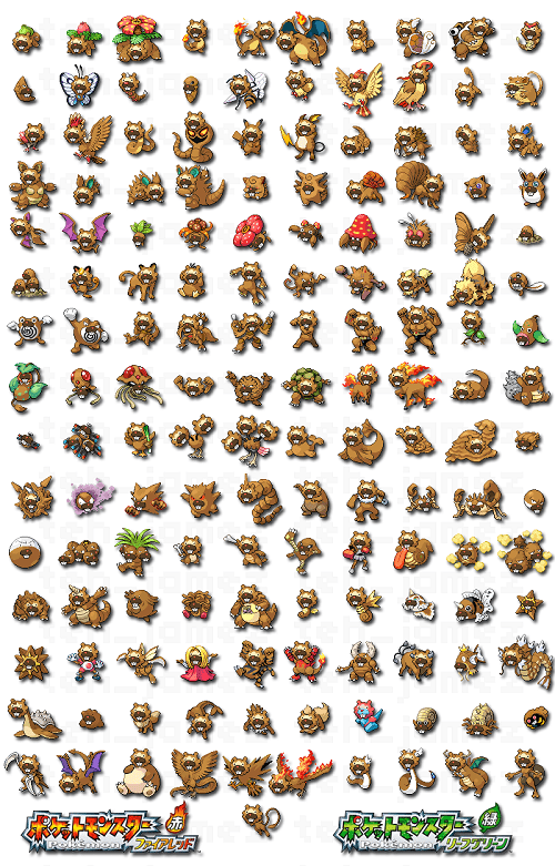 Bidoof Have Invaded Kanto