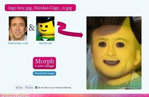 Nicolas Cage Should NEVER be Morphed With a LEGO...