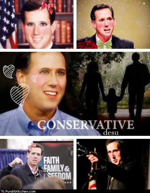 Rick Santorum Kawaii Desu
