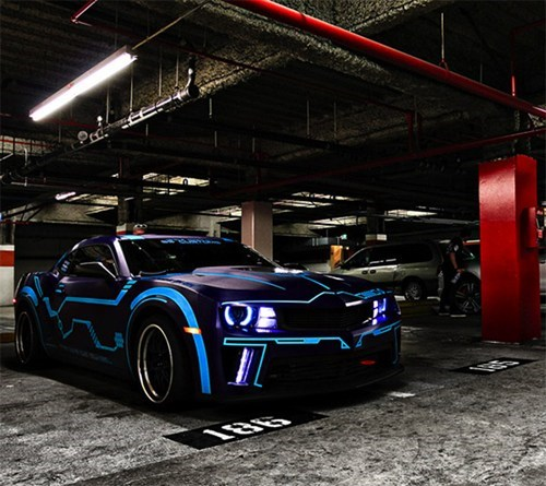 Tron Camaro of the Day