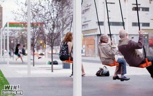 WIN!: Swinging Bus Stop WIN