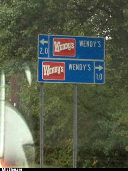 fast food,highway,sign,variety,wendys