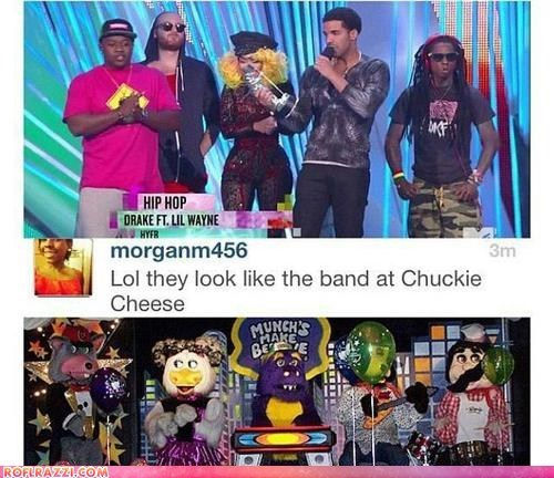 The Chuck E. Cheese Band did it Better