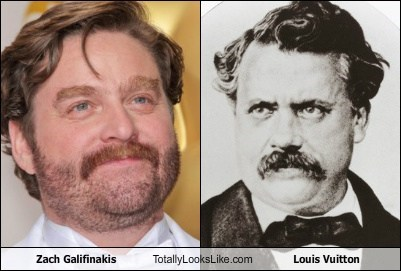 Zach Galifianakis Totally Looks Like Louis Vuitton