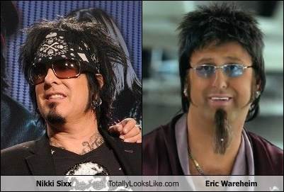 Nikki Sixx (Motley Crue) Totally Looks Like Eric Wareheim