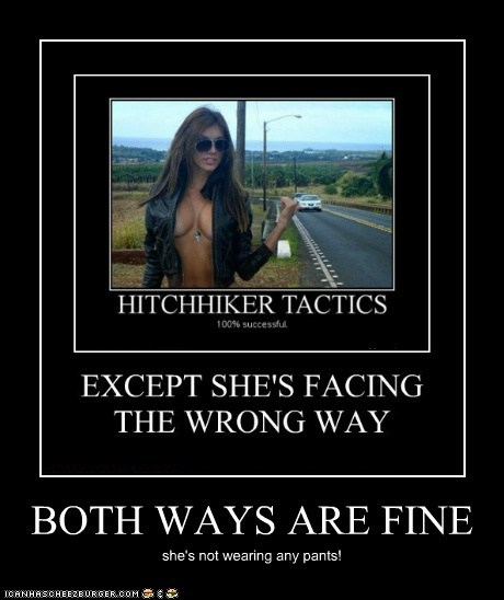 BOTH WAYS ARE FINE