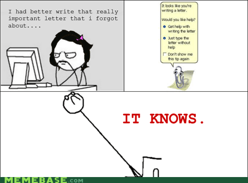 Rage Comics: It's ALWAYS Watching